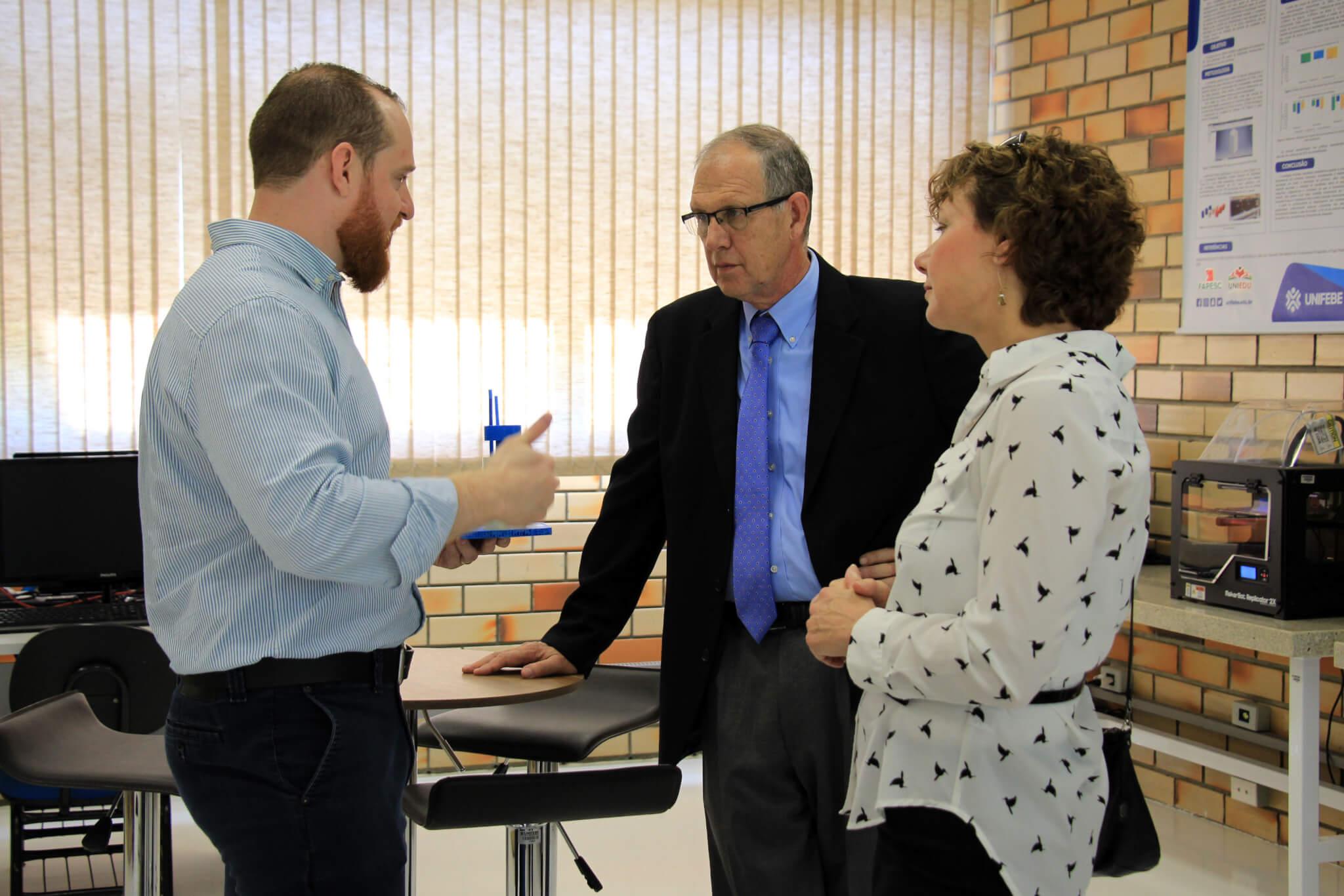 UNIFEBE e universidade americana definem estratégias de parceria