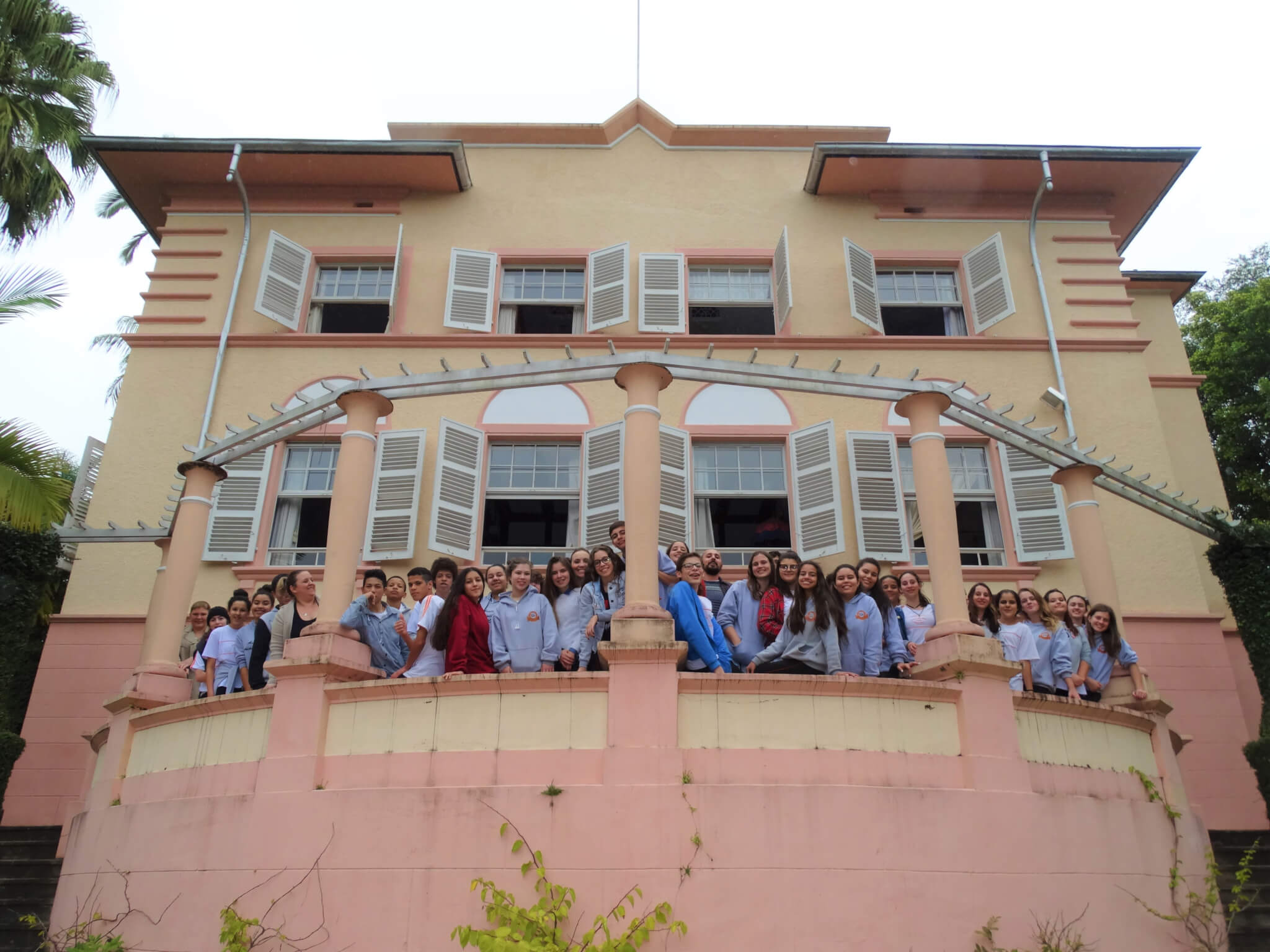 UNIFEBE oportuniza visita na Villa Renaux à escola de Brusque