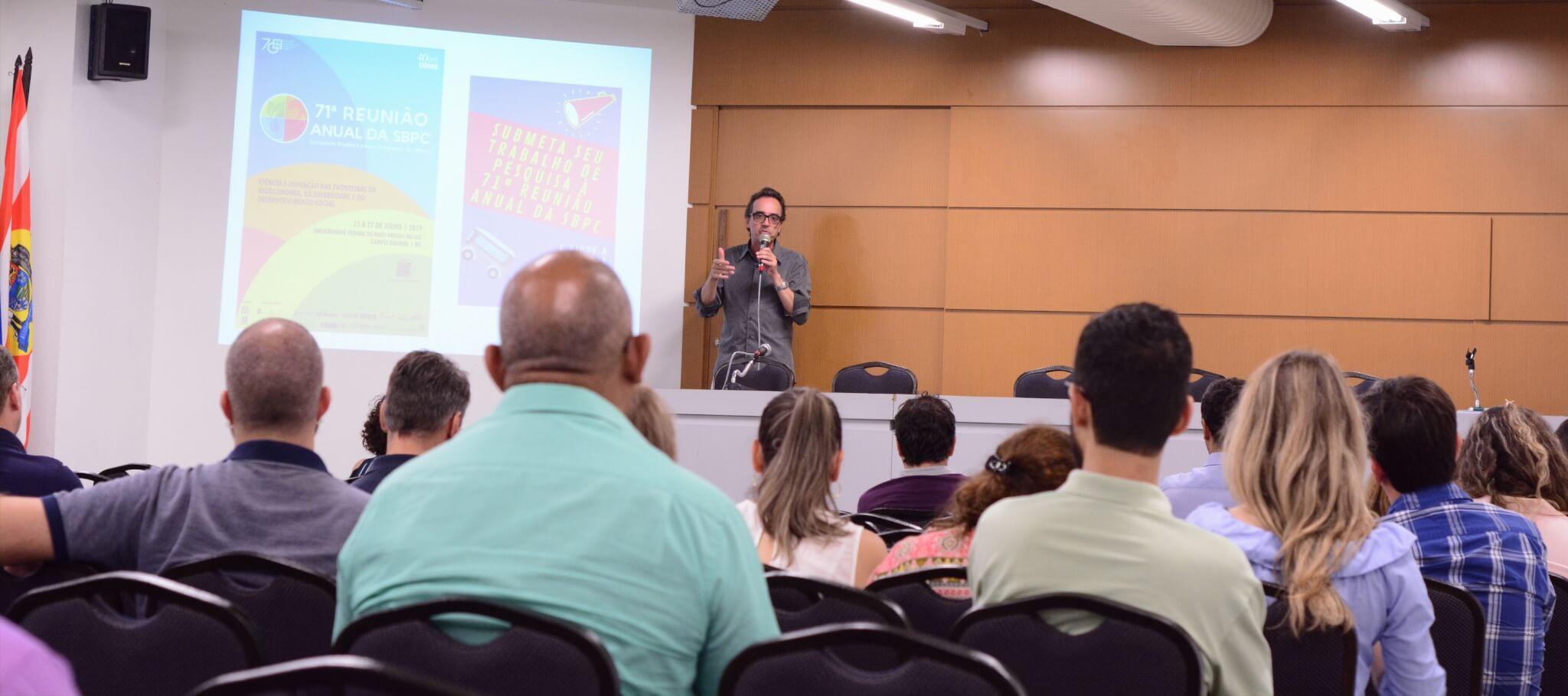 UNIFEBE participa de encontro com a Sociedade Brasileira para o Progresso da Ciência