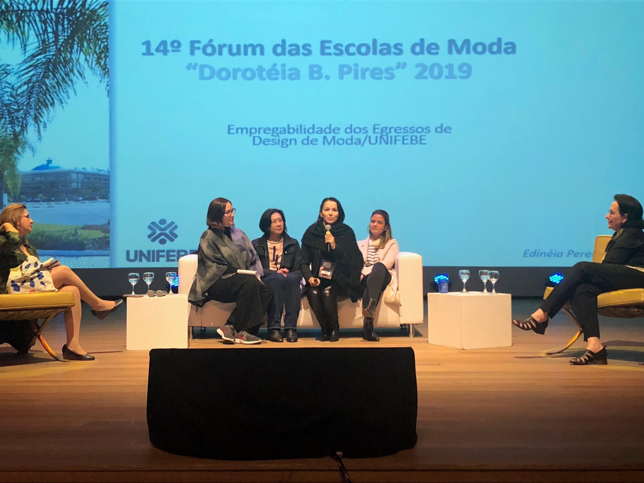 UNIFEBE participa do 14º Fórum das Escolas de Moda de 2019