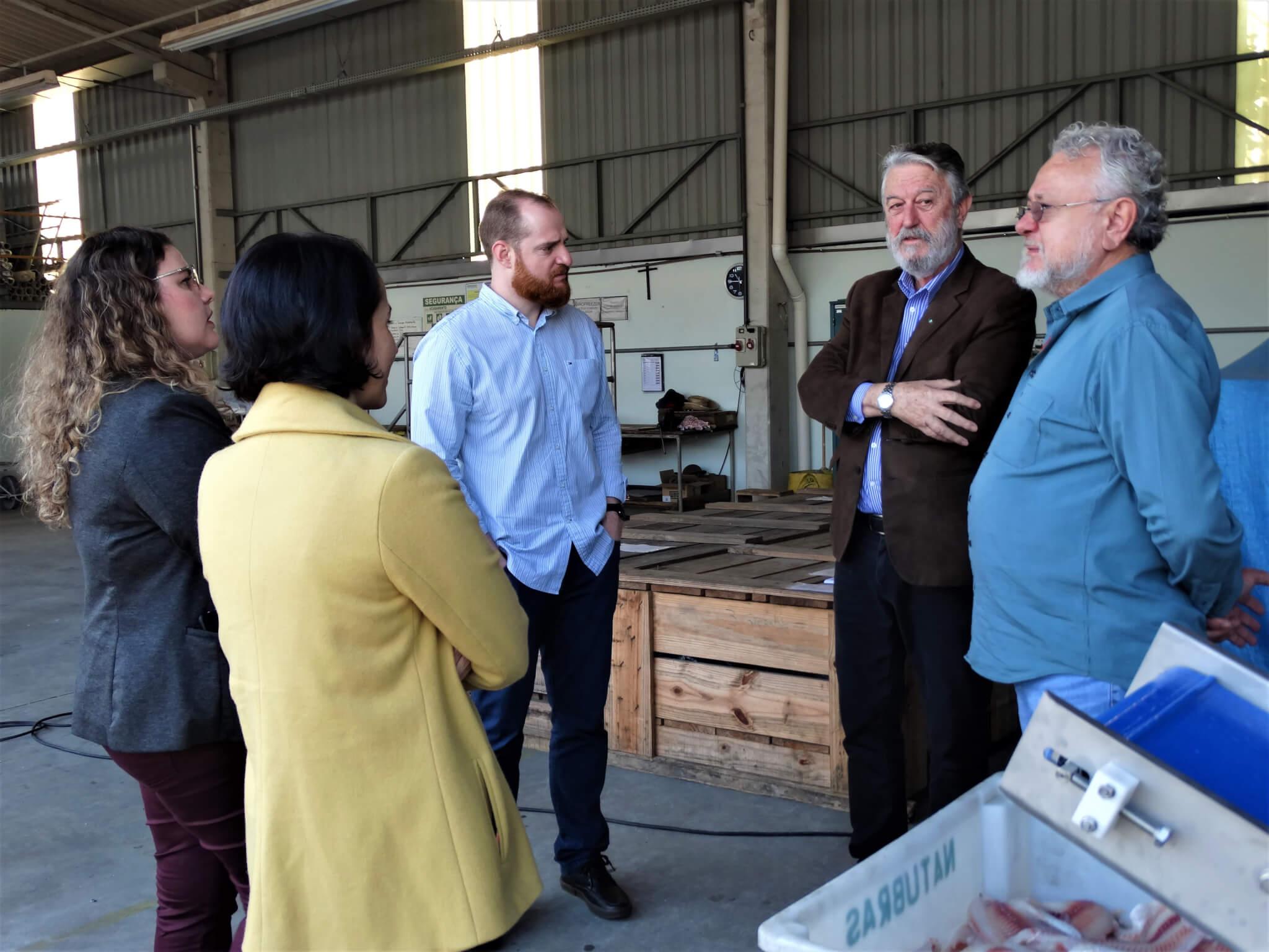 UNIFEBE visita empresa referência na fabricação de equipamentos de pescados