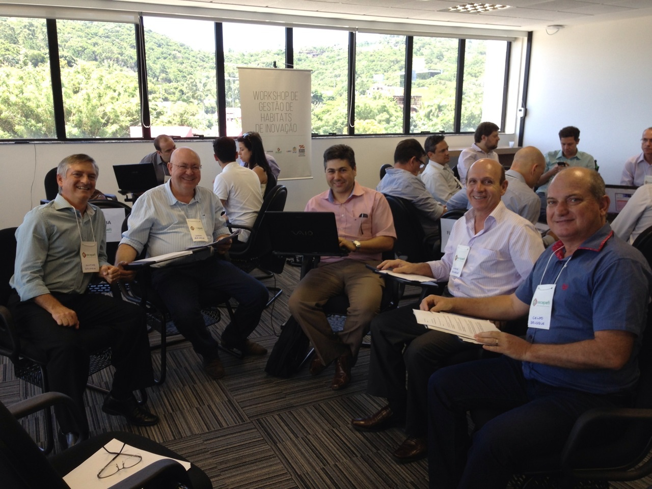 Reitor da UNIFEBE participa de Workshop sobre Inovação em Florianópolis